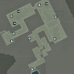 Tomb Raider Mountain Base Map of Collectible Locations