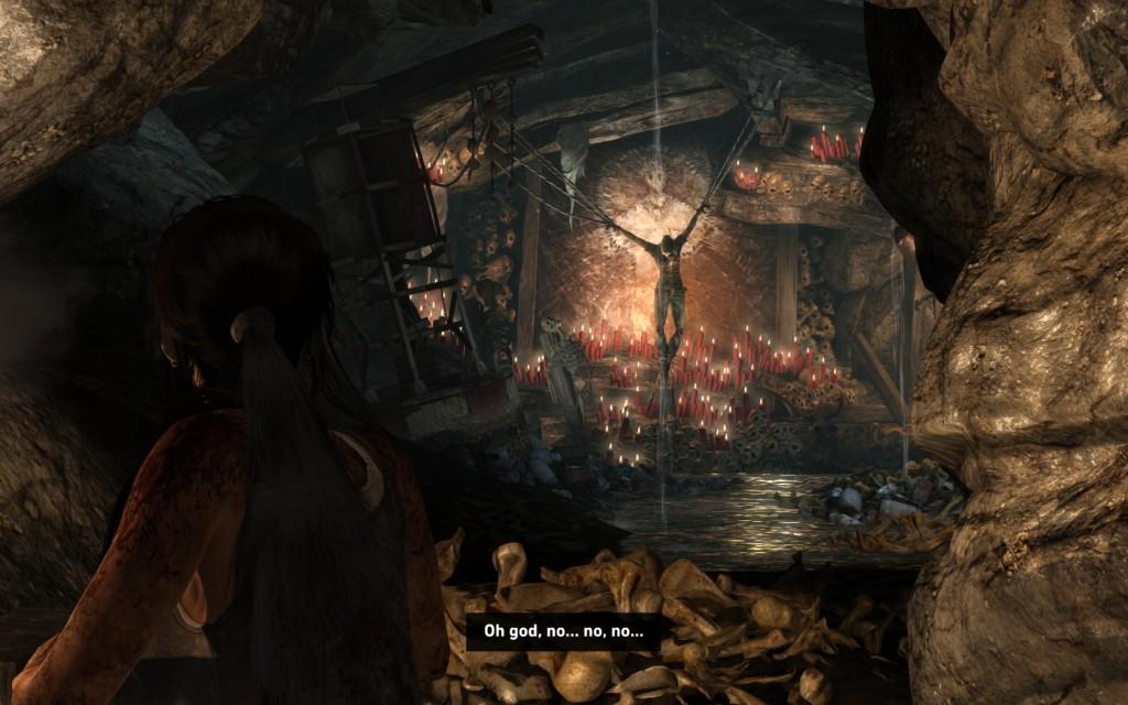 Tomb Raider First Mission Scavenger's Den - Gosu Noob Gaming Guides