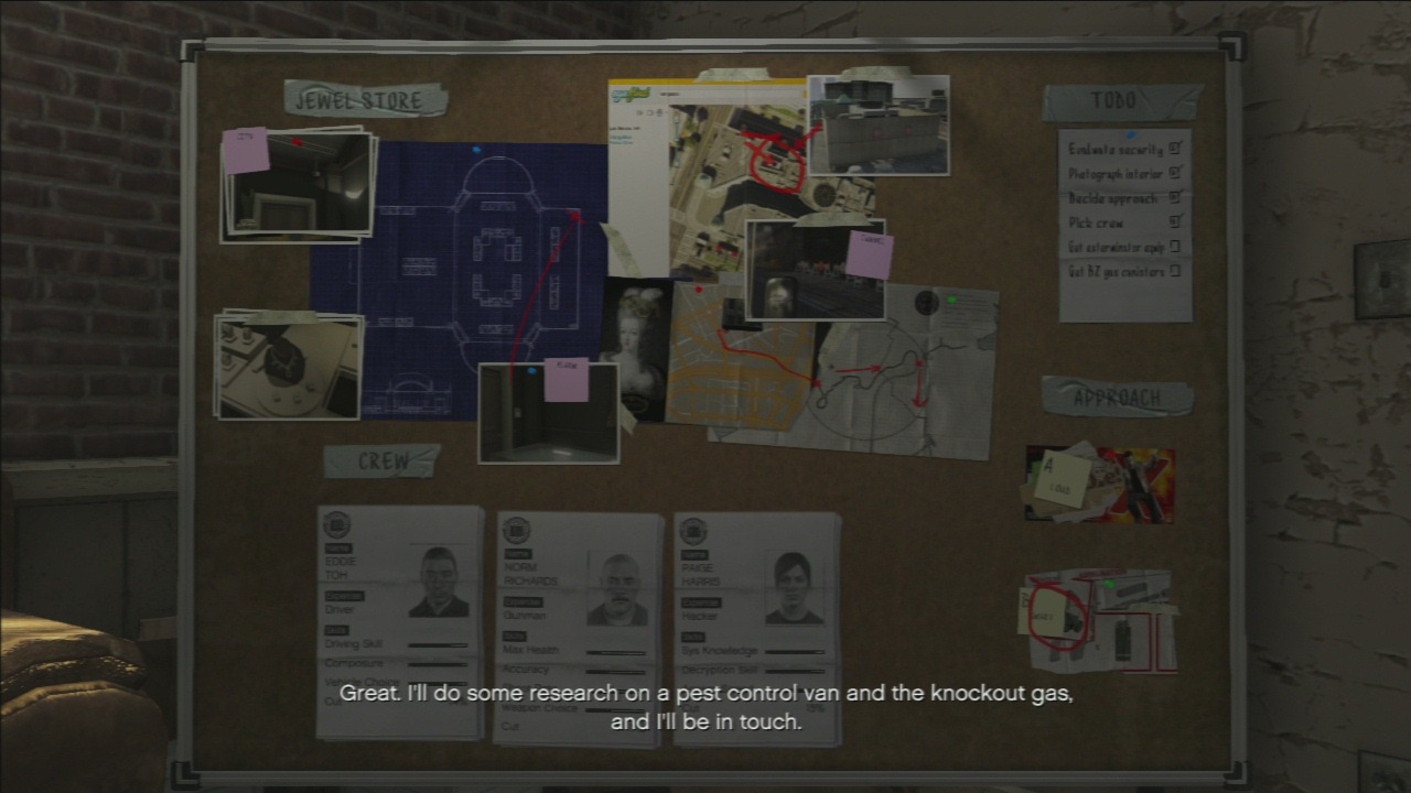 gta 5 mission 11 casing the jewel store guide 36 gosu noob gaming guides. Black Bedroom Furniture Sets. Home Design Ideas