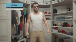 gta 5 Off-White Tank Top