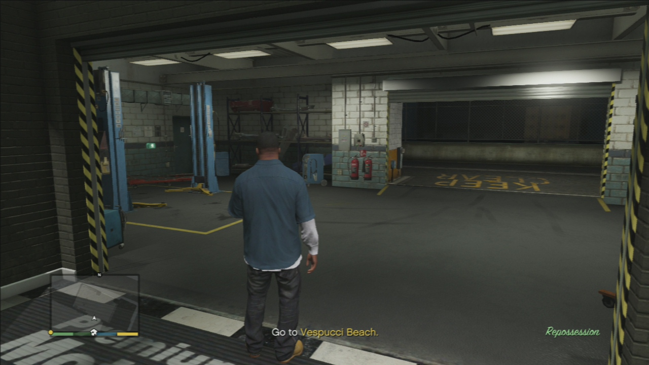 Published September 18, 2013 at 1280 × 720 in GTA 5 Mission 3 ...: gosunoob.com/grand-theft-auto-5/gta-5-mission-3-repossession...