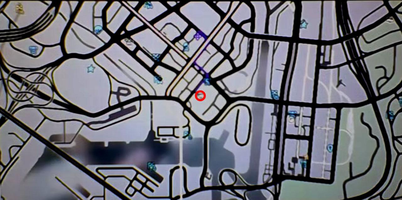 Declasse Tornado Location