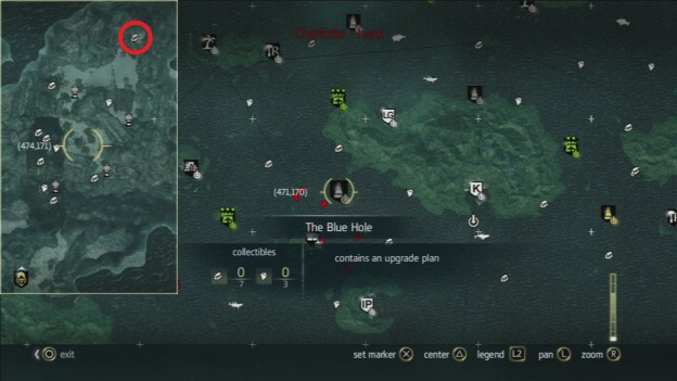 AC 4 Elite Set of Broadside Cannons Location