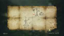 AC 4 Isla Providencia Treasure Map