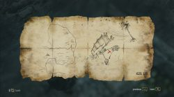 AC 4 Misteriosa Treasure Map
