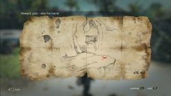 AC 4 Santanillas Treasure Map