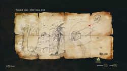AC 4 Ambergris Key Treasure Map
