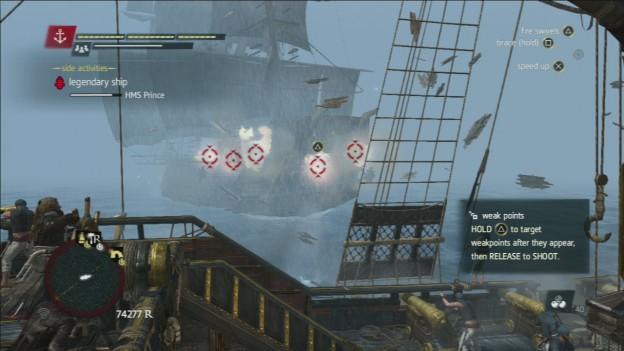 HMS Prince Legendary Ship
