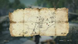 Pinos Isle Treasure Map