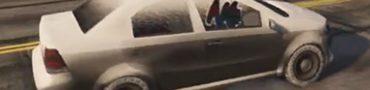 gta 5 online snow car