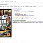 GTA V PC surfaced on Amazon