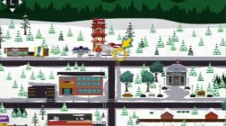 south park Chinpokomon Brocorri map