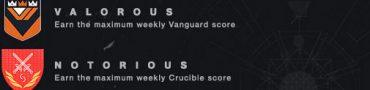 destiny achievements trophies