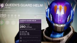Queen's guard helm