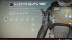 Queen's guard vest