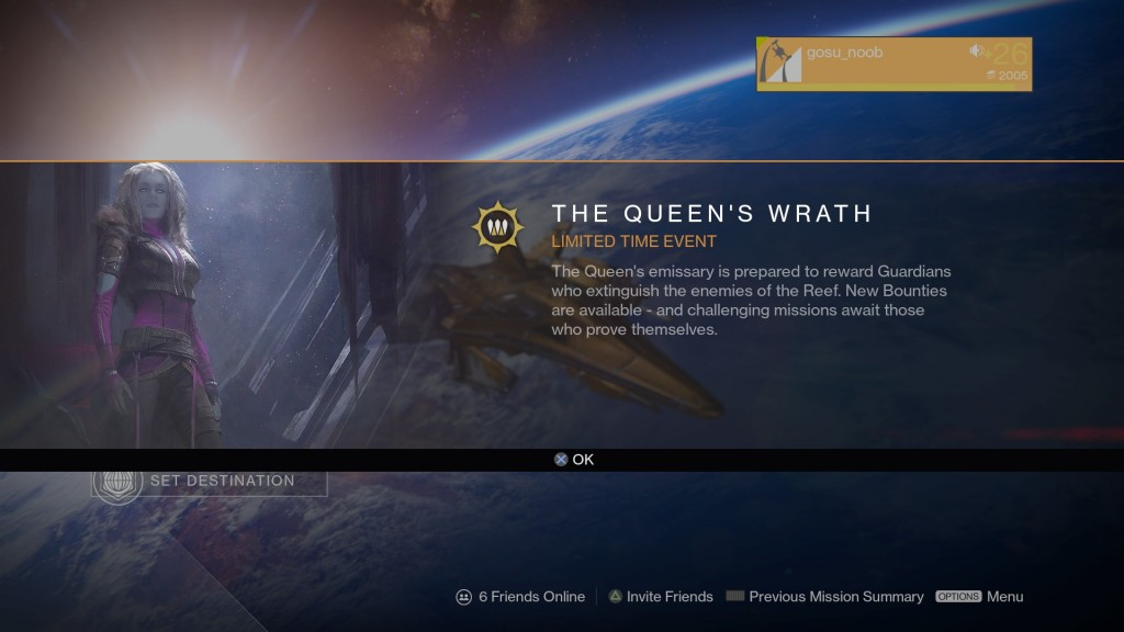 Queen's Wrath Event