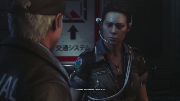 Alien Isolation Ripley cutscene screenshot
