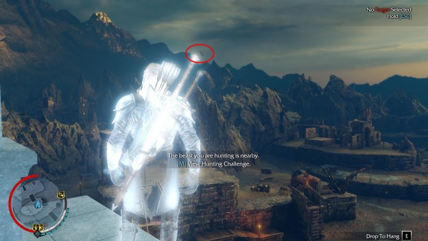 Shadow of Mordor Hunting Challenge Kill 5 Flying Creatures