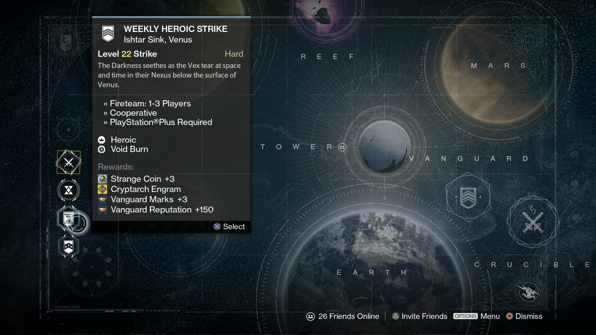 Destiny Update Adds Matchmaking to Weekly Heroic Strikes