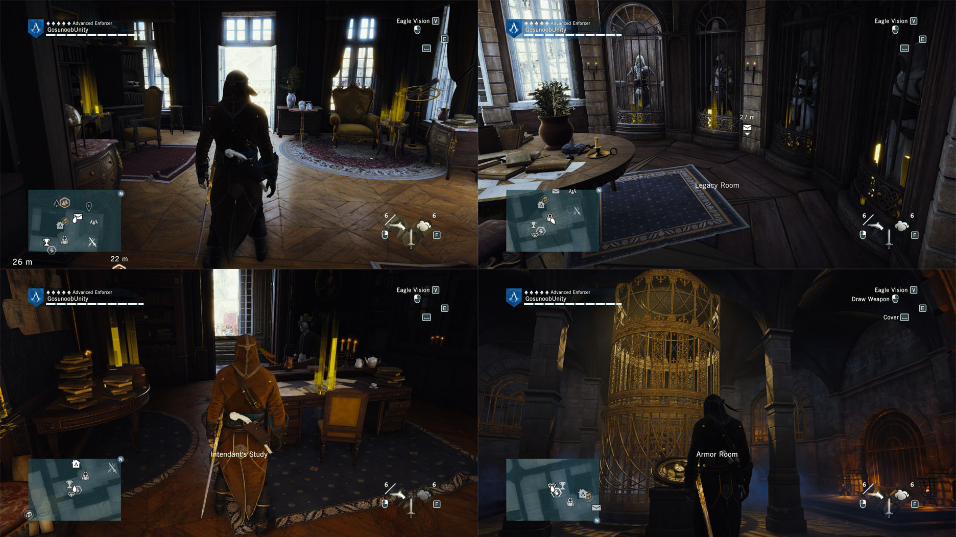Assassin S Creed Unity Armor Room