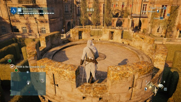 AC Unity Political Persecution Co-op Mission Sync Point