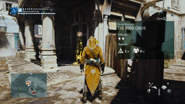 Assassin S Creed Unity The Food Chain Sync Points
