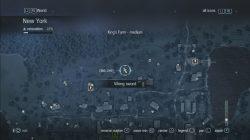Assassin's Creed Rogue King's Farm Viking Sword