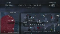 Assassin's Creed Rogue Templar map ile Des Pins