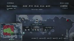 Assassin's Creed Rogue Templar Map Ord-du-Nord