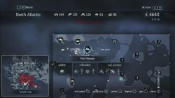 Assassins Creed Rogue Templar Map Port Menier 2