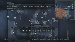 Assassin's Creed Rogue Templar Map Port Menier