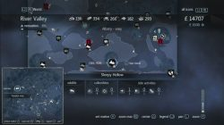 Assassin's Creed Rogue Templar Map Sleepy Hollow