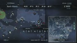 Assassin's Creed Rogue Templar Map St. John's
