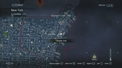 Assassin's Creed Rogue Templar Map Stuyvesants Farm