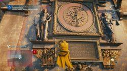 Saturnus Nostradamus Enigma first riddle clock tower