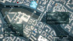 Saturnus Nostradamus Enigma start map location