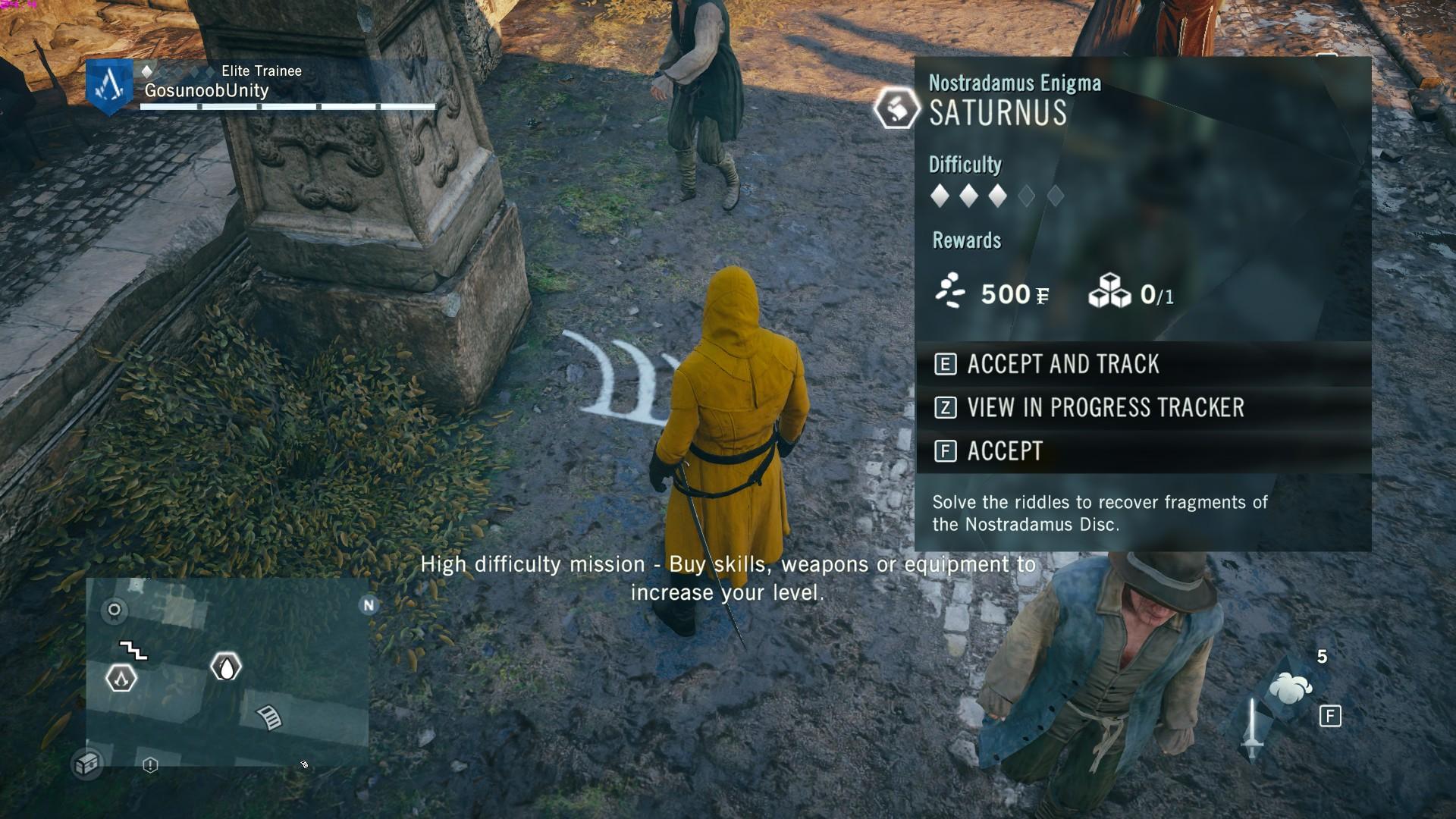 Assassin S Creed Unity Saturnus Nostradamus Enigma Guide