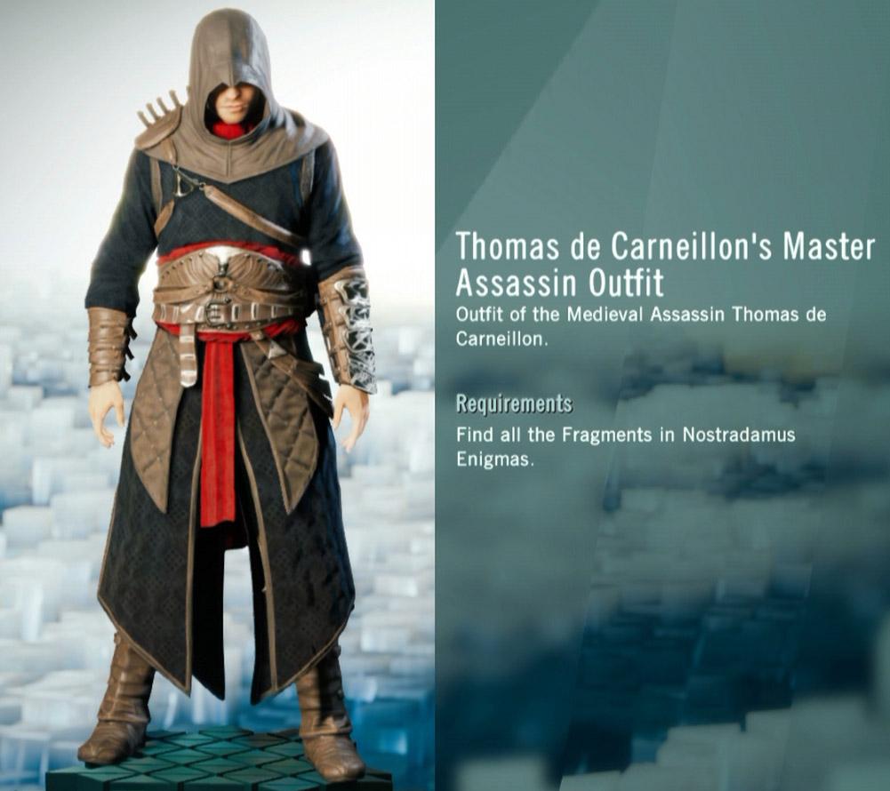assassins creed revelations master assassin armor