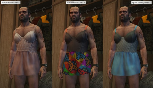 GTA 5 Space Monkey Dress