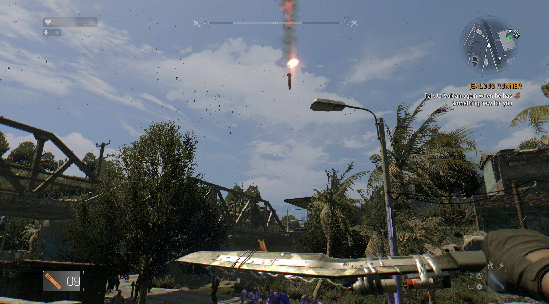 Dying light air strike blueprint location in antenna area malvernweather Gallery