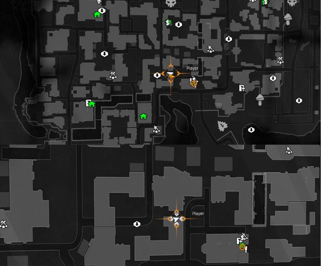 goem dying light blueprint location guide