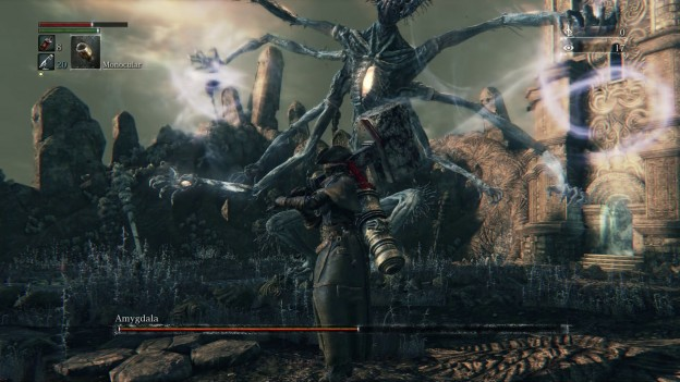 Bloodborne Amygdala Boss Nightmare Frontier