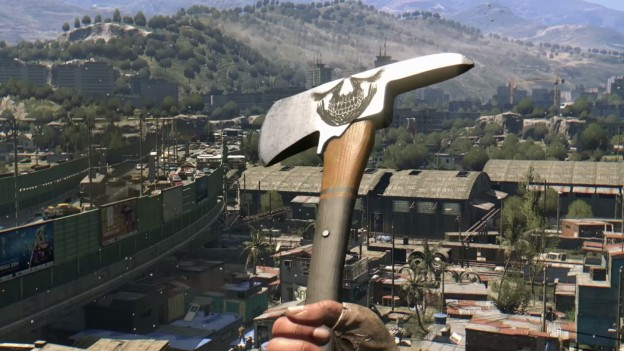 Dying Light 1.5 Weapon