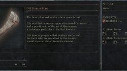 caçador descrição idade óssea