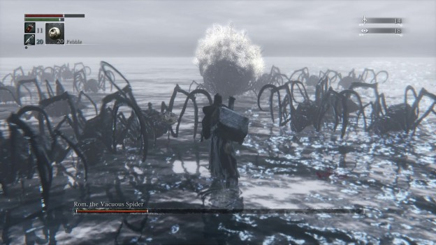 Bloodborne Rom the Vacuous Spider