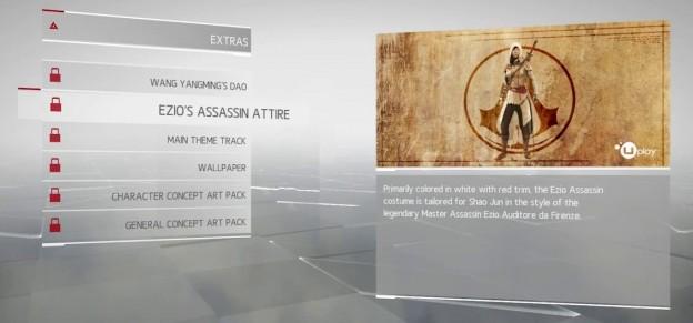 ezio attire assassin's creed china