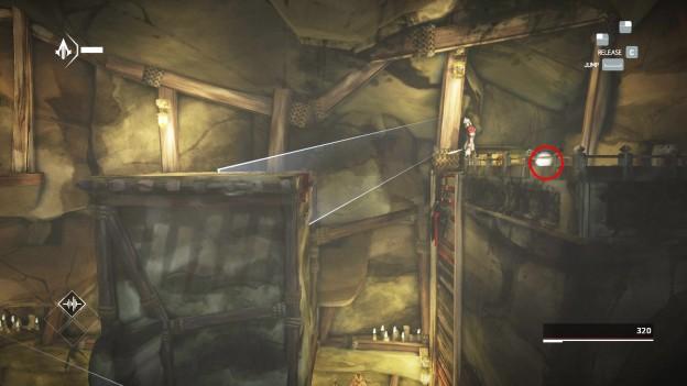 animus shard location the escape