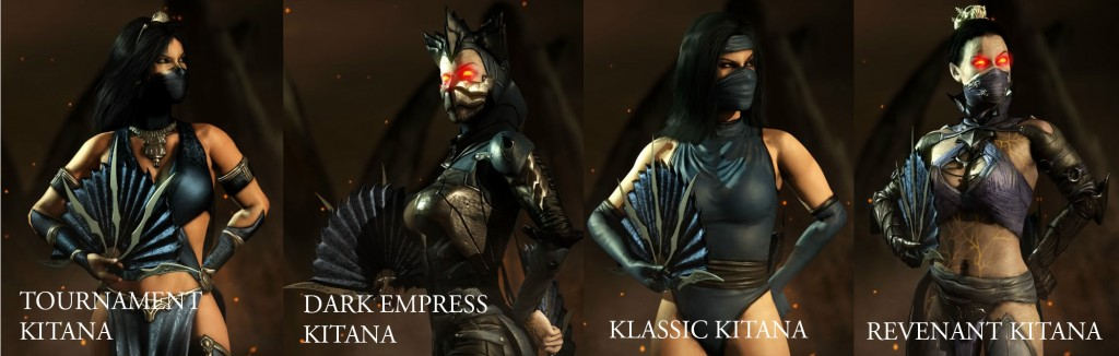 mortal kombat x kitana & Alternate Costumes Guide | Mortal Kombat X