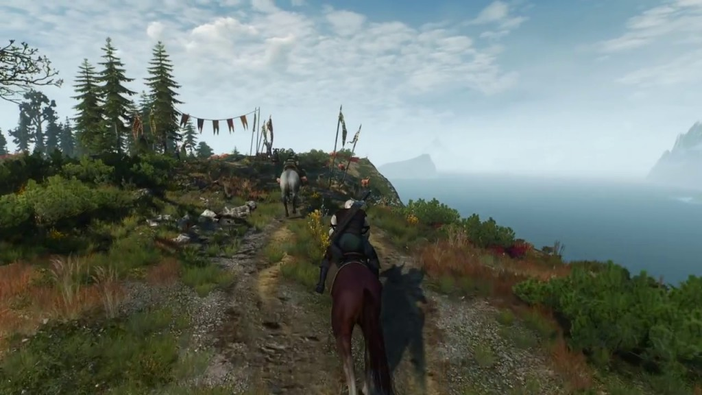 witcher 3 horse racing