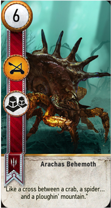 Arachas Behemoth card
